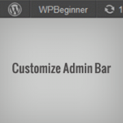 How To Take Control of Your WordPress Admin Bar