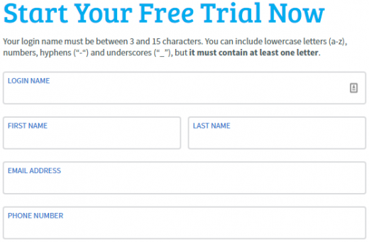 Start your AWeber free trial
