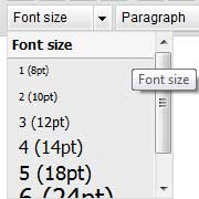 How to Change the Font Size in WordPress