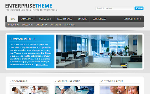 Enterprise Theme by StudioPress