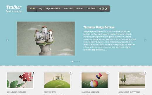 Feather by Elegant Themes