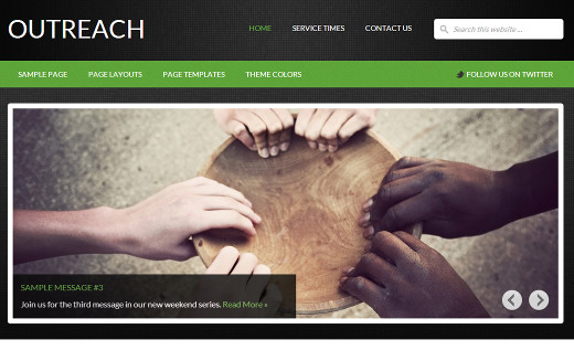 Outreach Theme by StudioPress