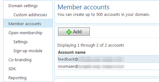 Setting up new email accounts on your domain