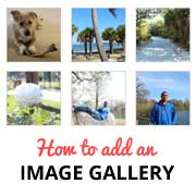 How to Add an Image Gallery in WordPress