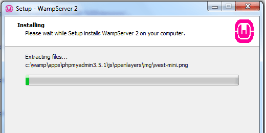 Installing Wampserver