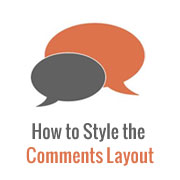 How to Style the WordPress Comments Layout