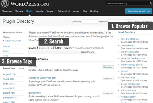 WordPress Plugin Directorio