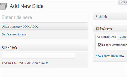 Adding a slide in Meteor Slider