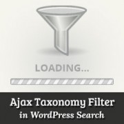 How to Add Ajax Taxonomies Filter in WordPress Search