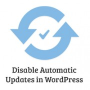 Disable Auto Updates