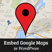 Embed Google Maps in WordPress