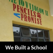 We Built a School