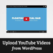How to Record and Upload YouTube Videos Directly From WordPress
