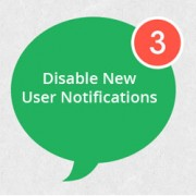 Disable New User Notification Emails
