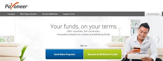 Payoneer online payments