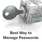 Best Way to Manage Passwords