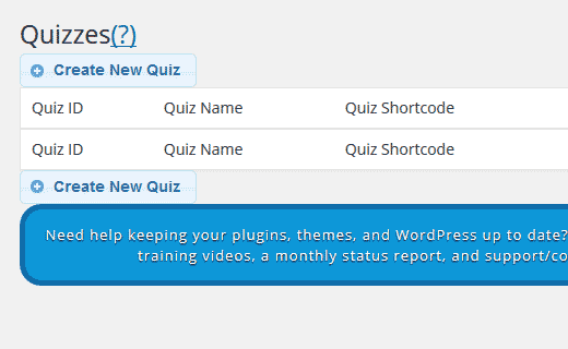 Create New Quiz in Quiz Master Next for WordPress