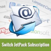 How to Switch JetPack Subscription to MailChimp, Aweber, etc.