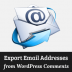 How to Export Email Addresses from WordPress Comments
