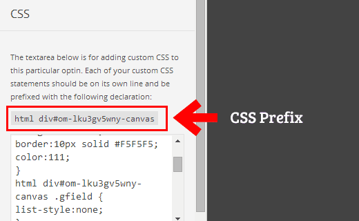 CSS prefix you need to use with each CSS rule