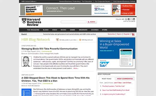 Harvard Business Review Blogs