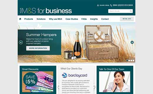 Marks & Spencer for Business