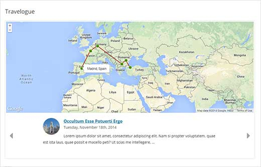 How to Add an Interactive Travel Maps in WordPress – World Map For Travel