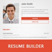 How To Create A Professional Online Resume In WordPress  Resume Builder Professional