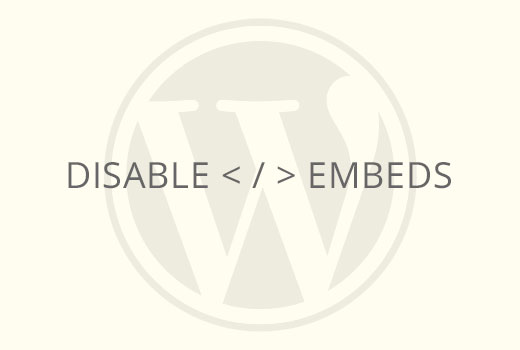 How to Disable Post oEmbed on Your WordPress Site