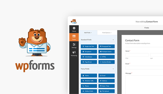 WPFORMS - WordPress Tool For Your Business Website in 2017