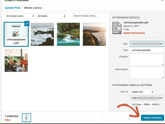Provide a title and caption for your PDF file