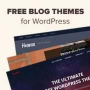 49 Best Free WordPress Blog Themes for 2018