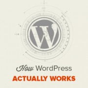 How WordPress Actually Works Behind the Scenes (Infographic)