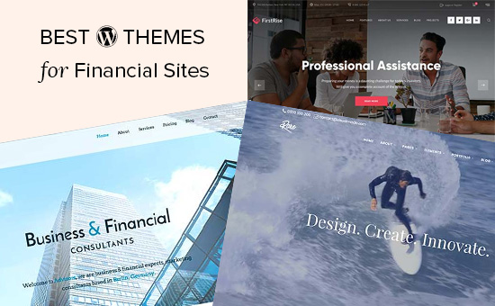 Top 25 Best WP Themes for Financial Website or Blogs