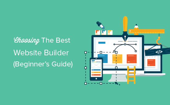 How To Choose The Best Website Builder In 2017 Compared