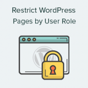 How to Restrict WordPress Pages by User Role