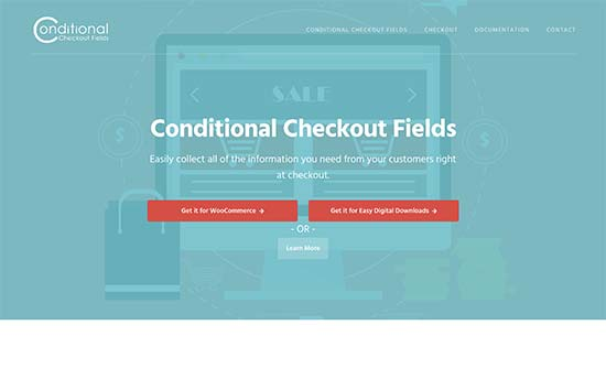 Conditional Checkout Fields