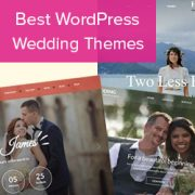 21 Best Wedding WordPress Temas