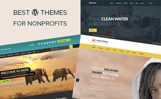 Best WordPress themes for nonprofit organizations