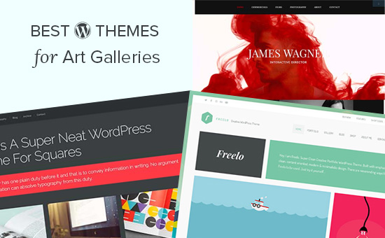 Best WordPress themes for art galleries
