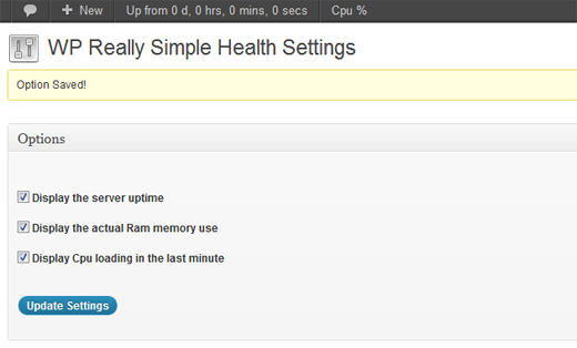 WP Really Simple Health for WordPress