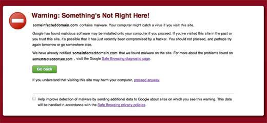 Google Blacklisted