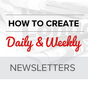 How To Create A Daily And Weekly Email Newsletter In WordPress - Daily newsletter template