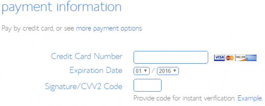 Bluehost coupon payment