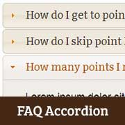 How to Add a jQuery FAQ Accordion in WordPress