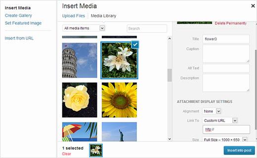 how to add custom link to wordpress menu