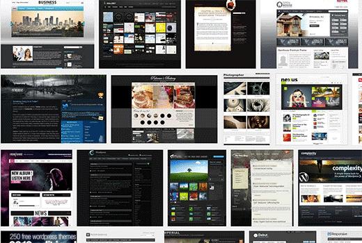 The abundance of Premium and WordPress Themes