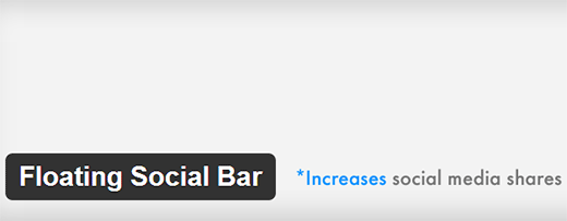 Floating Social Bar  - floatingsocialbar1 - Must Have WordPress Plugins