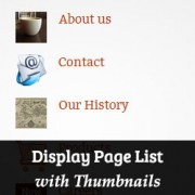 How to Easily Show a Page List with Thumbnails in WordPress