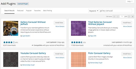 New plugin install experience in WordPress 4.0